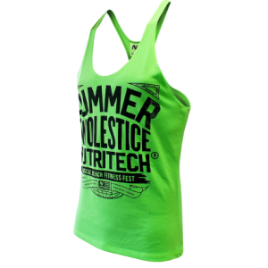 Summer Swolestice Singlet Green