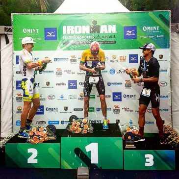 KYLE BUCKINGHAM TAKES SECOND PODIUM, IRONMAN SOUTH AMERICAN CHAMPIONSHIP.
