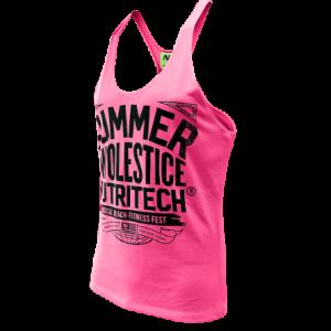Summer Swolestice Singlet Pink